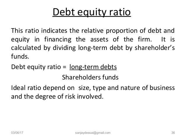 Ratio analysis - Financial ratios for B Com students