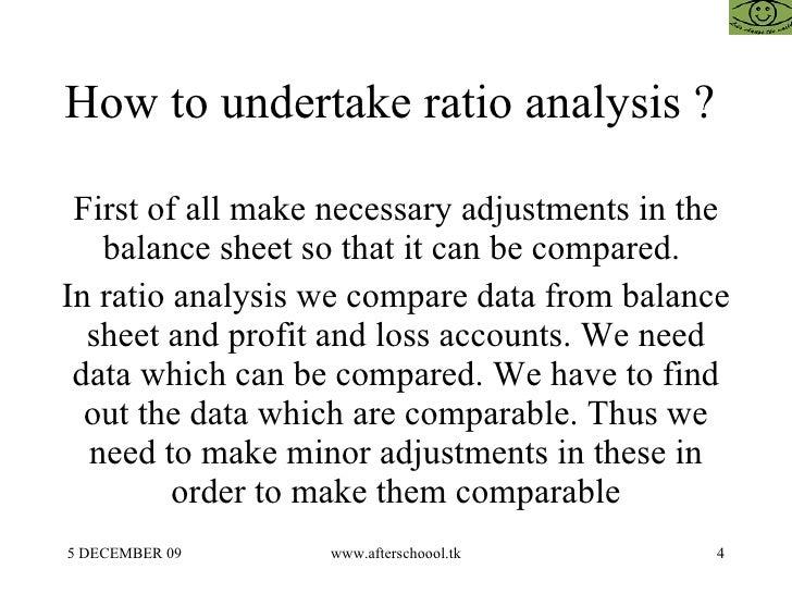 Inadequacies of Accounting Ratios as Tools of Financial Analysis Essay Sample