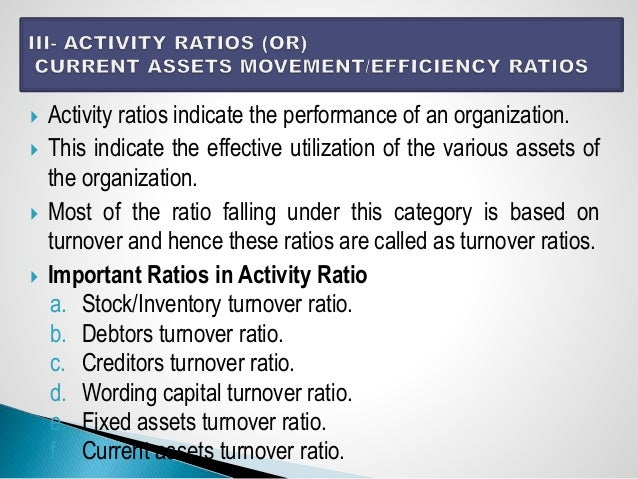 Ratio Analysis by Dr. Suresh vadde