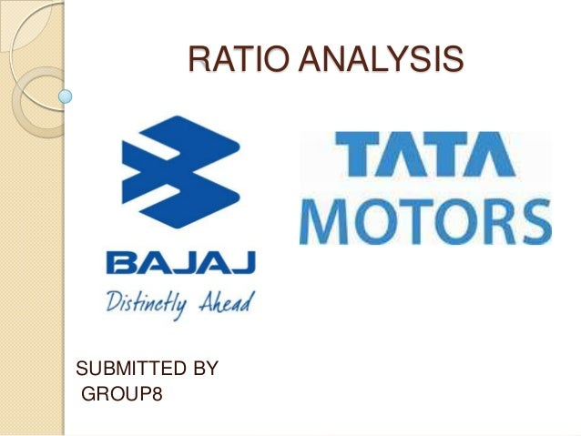 RATIO ANALYSISSUBMITTED BYGROUP8