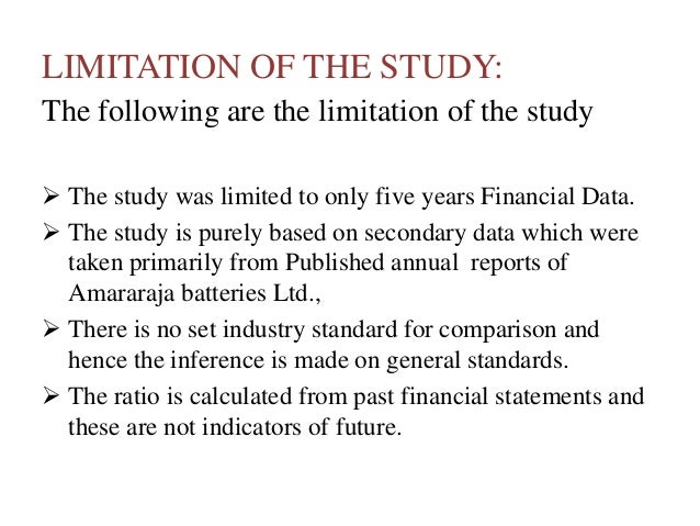 limitations of ratio analysis for cross sectional comparisons essay