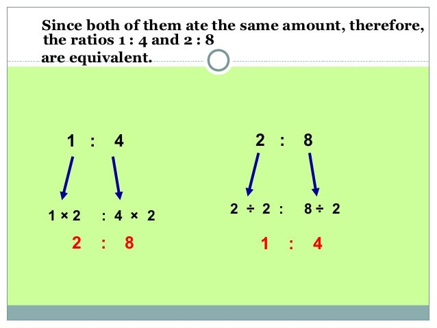how to find ratio of 2 number