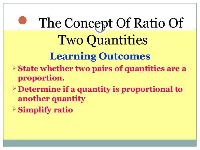 Ratio form 2