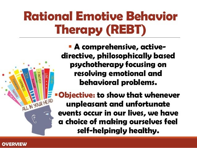 rationale treatment objectives Panic disorder and agoraphobia: overview and cbt treatment august 26, 2010 by anthony centore leave a comment provide a treatment rationale & treatment description patients are to develop an alternative conceptual framework and an objective versus subjective self monitoring awareness.