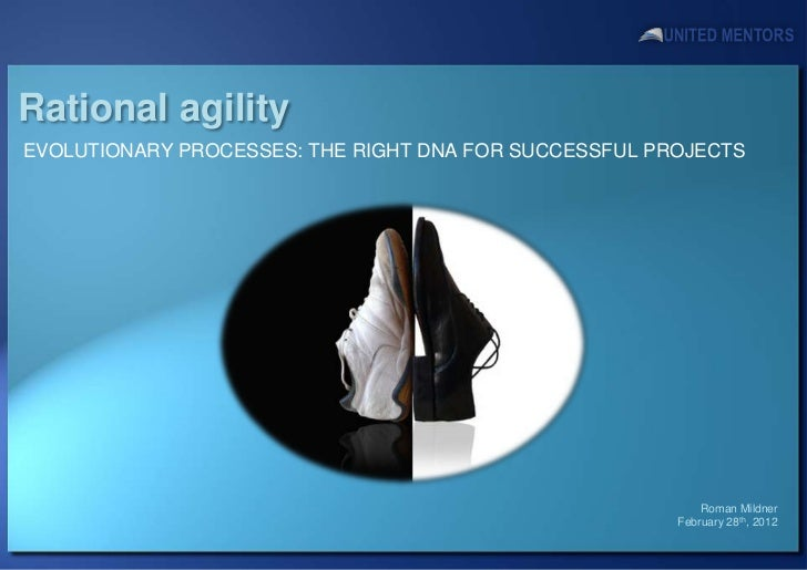 Rational agilityEVOLUTIONARY PROCESSES: THE RIGHT DNA FOR SUCCESSFUL PROJECTS                                             ...