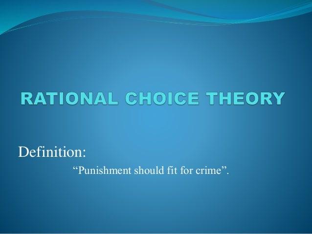 """Definition:  """"Punishment should fit for crime""""."""