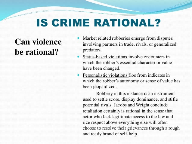 "the formal theory of rational choice Irrational rationality of terrorism robert nalbandov dr department of political science, utah state university, robertnalbandov@gmailcom  be explained by the rational choice theory its ""new"" version represents a substantial departure from rationality."