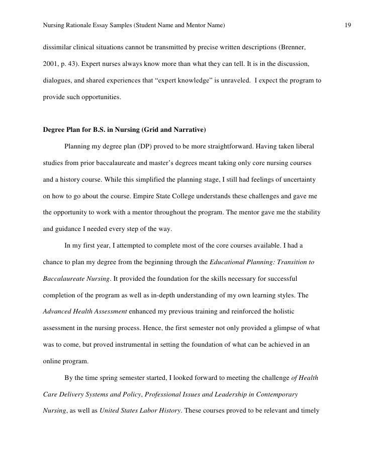 essay on the history of nursing
