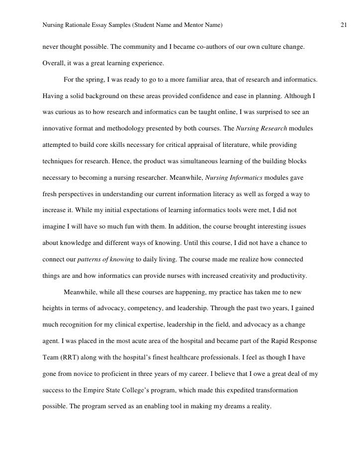 nursing essay sample co nursing essay sample
