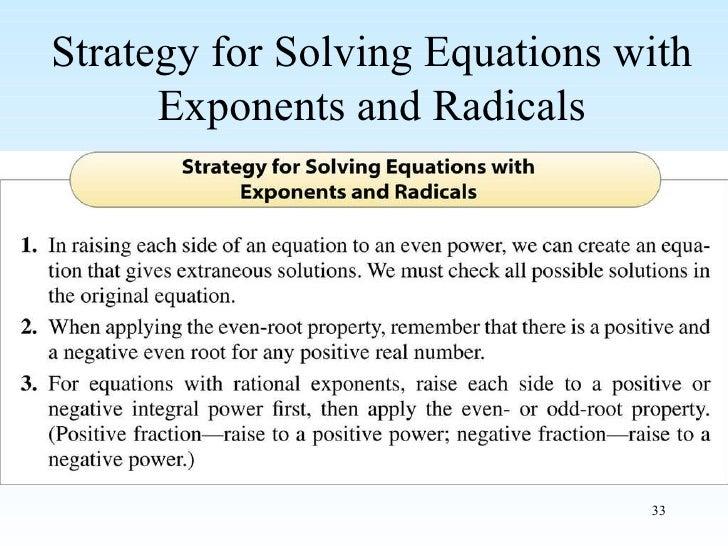 Radical Classroom Design ~ Rational exponents