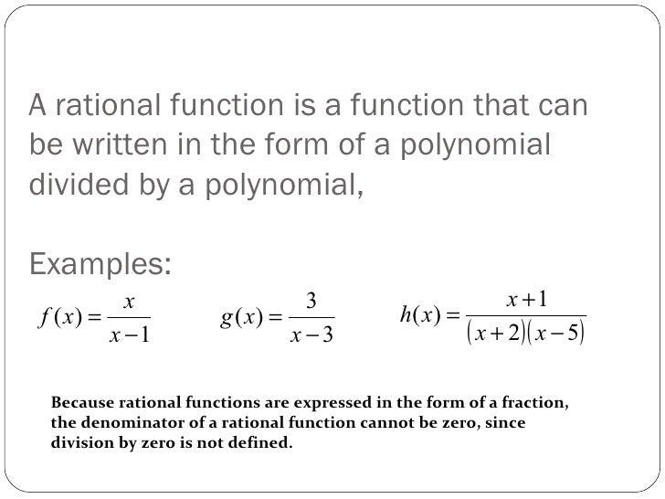 Rationalfunctionsandtotes