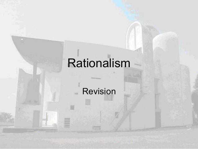 Rationalism Revision