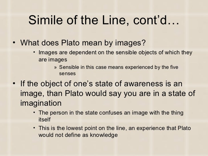 simile of the line plato Plato's similes: a compendium of 500 similes in 35 dialogues powered by wordpress and the clear line theme site hosted by the center for hellenic studies.