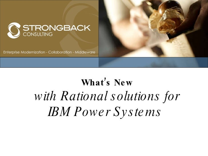 What's New with Rational solutions for IBM Power Systems