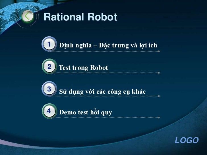 IBM Rational Robot Test Automation Architecture