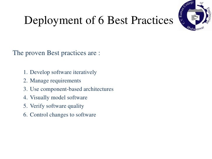 Well supported by industry leading Rational tools (Rose, RequisitePro)</li></li></ul><li>RUP : A Software Engineering Proc...