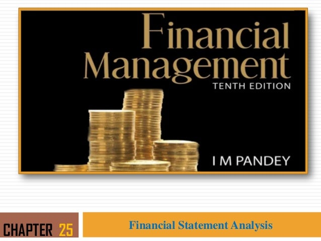 Financial Statement Analysis CHAPTER 25