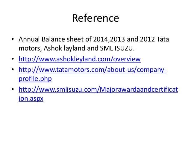ratio analysis of tatamotors Get tata motors latest key financial ratios, financial statements and tata  motors  key financial ratios of tata motors  news results estimates  analysis.