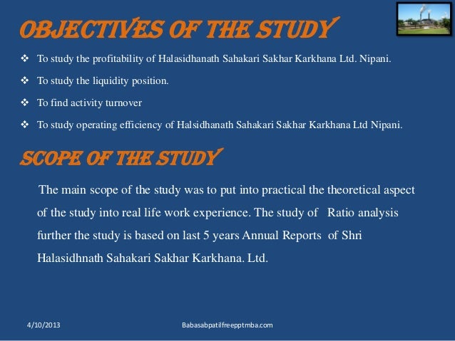 a study on ratio analysis at Financial statement analysis & calculation of analysis summary in general, a thorough financial analysis of any business would include a study of the following financial information: d business risk (operating) analysis ratios e financial risk (leverage) analysis ratios 7.