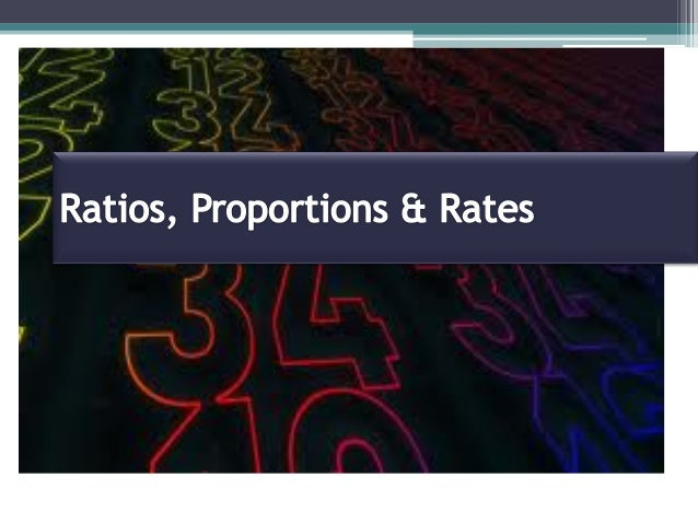 Ratio Proportion Proportion - Solve for variables Rate Unit Rate Scenario Application Real World Application Quick Recap Q...