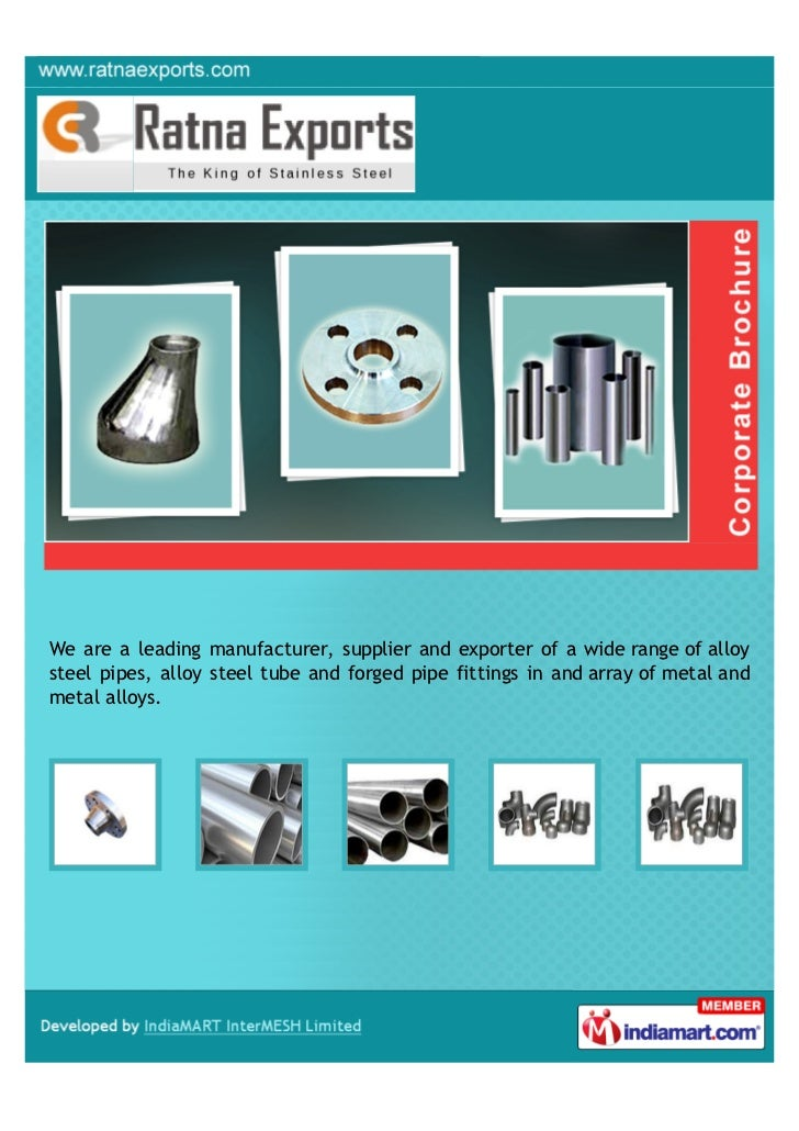 We are a leading manufacturer, supplier and exporter of a wide range of alloysteel pipes, alloy steel tube and forged pipe...