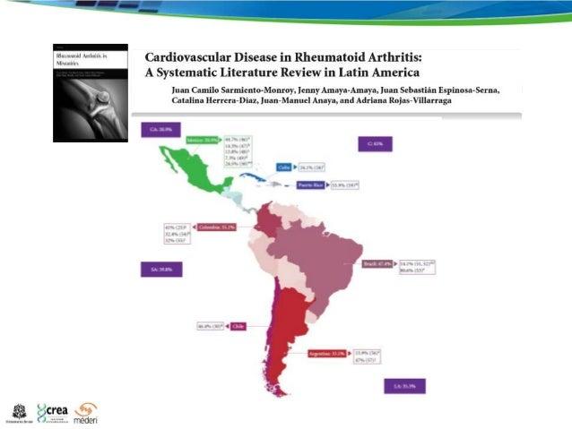 Treatment Of Rheumatoid Arthritis In Latin America EULAR - Arthritis prevalence us map