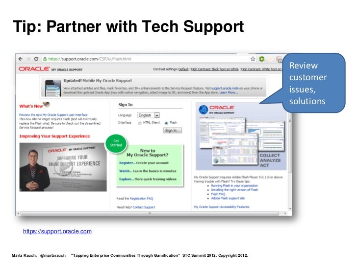 Tip: Partner with Tech Support                                                                                            ...