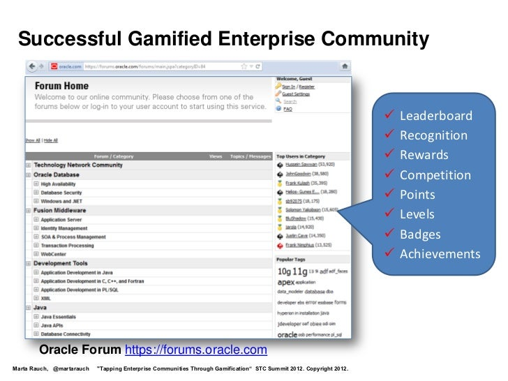 Successful Gamified Enterprise Community                                                                                  ...