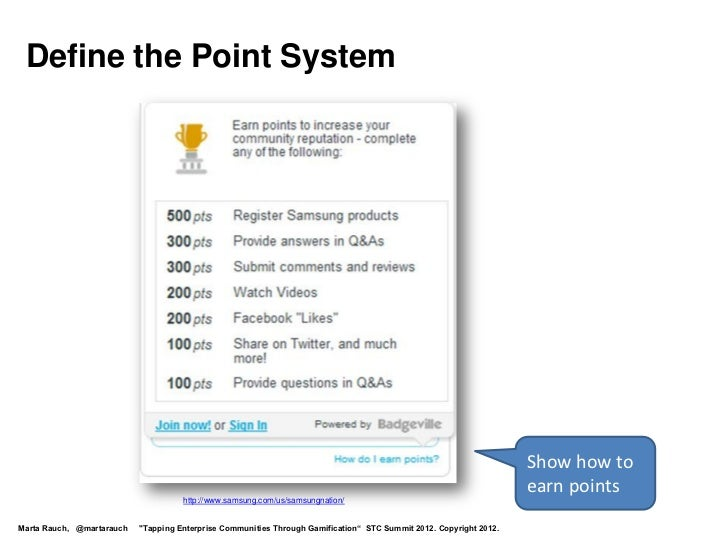 Define the Point System                                                                                                   ...