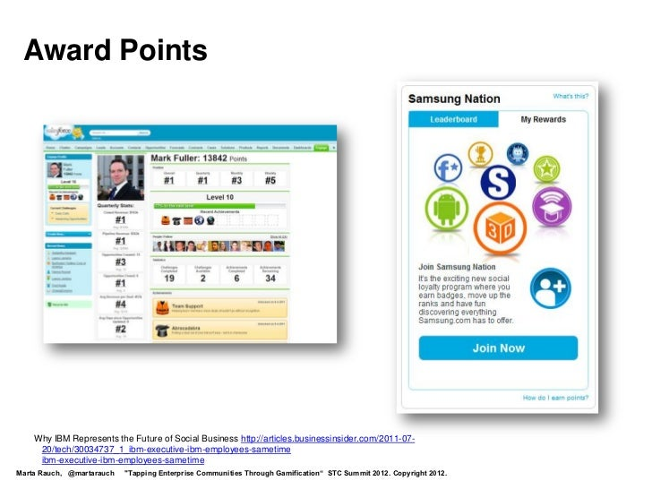 Award Points    Why IBM Represents the Future of Social Business http://articles.businessinsider.com/2011-07-     20/tech/...
