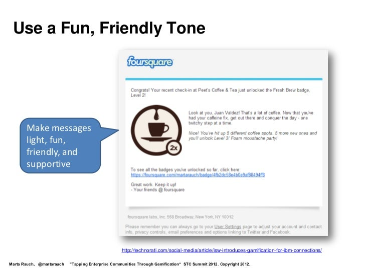 Use a Fun, Friendly Tone       Make messages       light, fun,       friendly, and       supportive                       ...