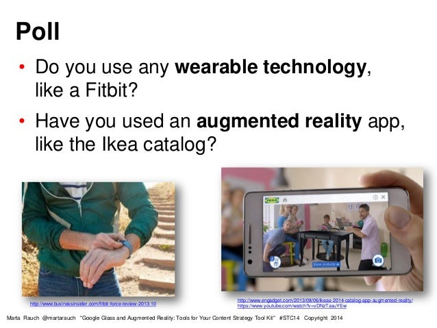 Google Glass and Augmented Reality - tools for your content strategy tool kit Slide 3