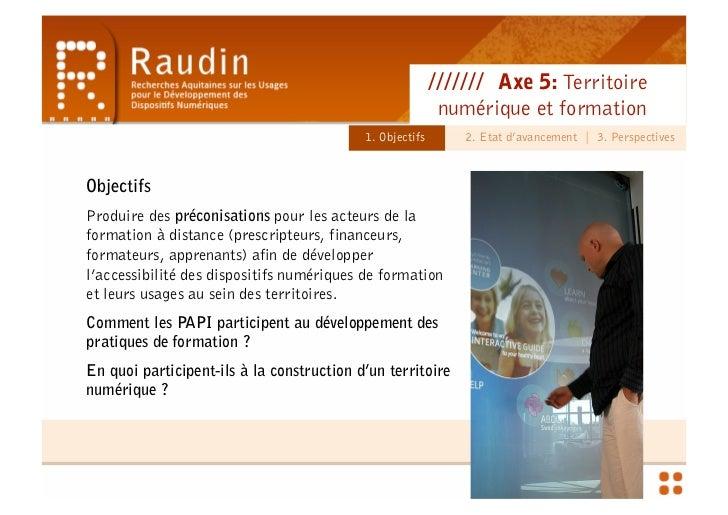 Territoire Numérique et Formation - Séminaire Préfecture & CR Slide 2