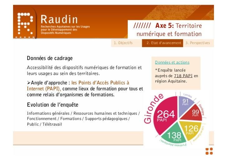 Territoire Numérique et Formation - Séminaire Préfecture & CR Slide 3