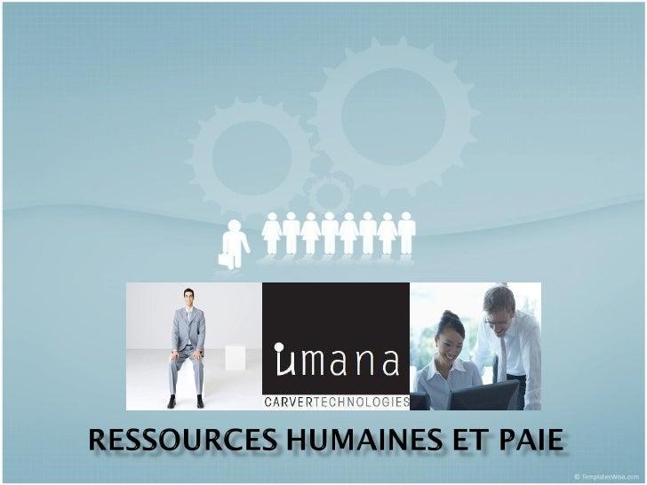 Programme du réseau d'affaires Umana Slide 1