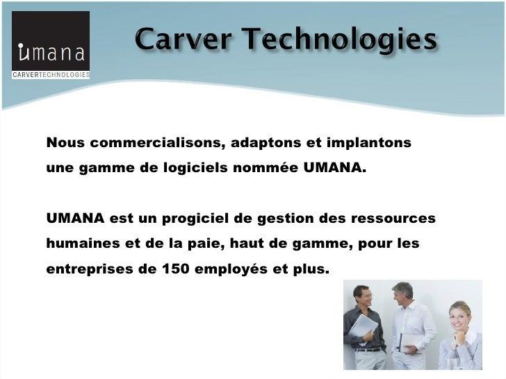 Programme du réseau d'affaires Umana Slide 3