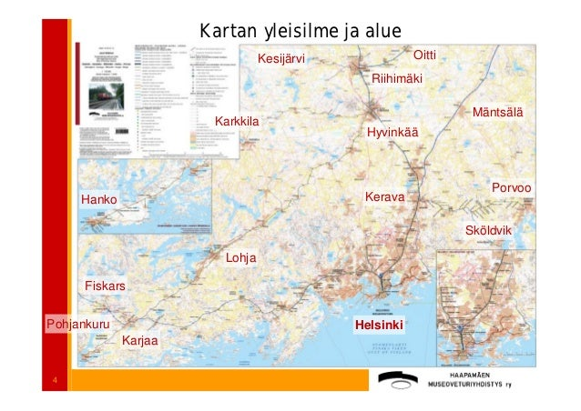 Jussi Makinen Rautatiehistoriallinen Kartta Apps4finland Tyot Paik