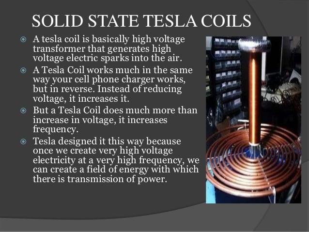 Tesla Wireless Power >> Wireless Power Transmission Through Tesla Coils