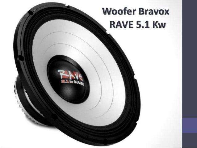 Woofer Bravox RAVE 5.1 Kw