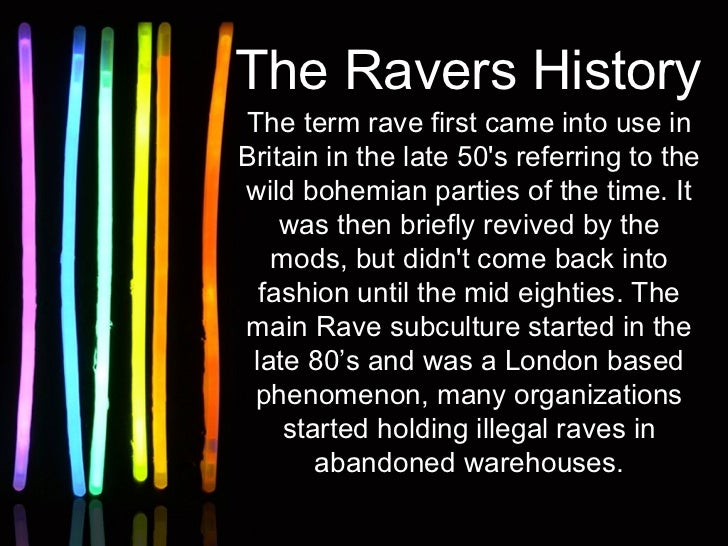 The Death of the Rave Scene?