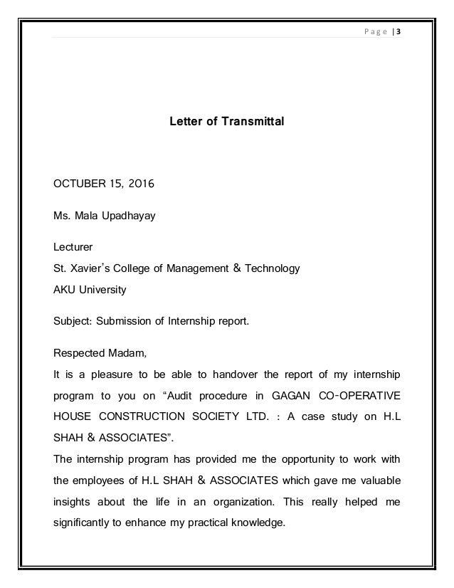 internship report pdf