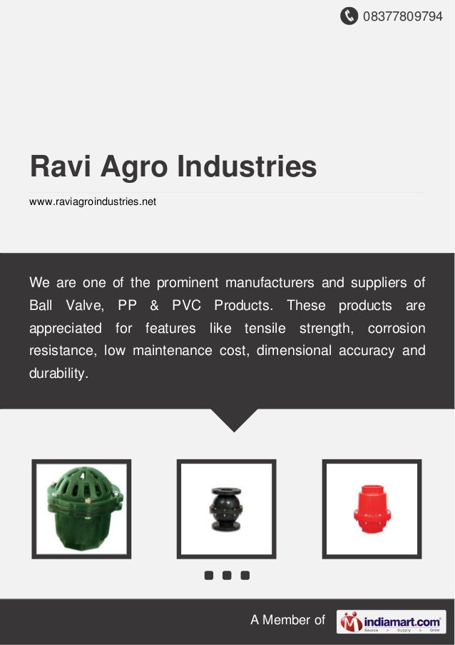 08377809794 A Member of Ravi Agro Industries www.raviagroindustries.net We are one of the prominent manufacturers and supp...