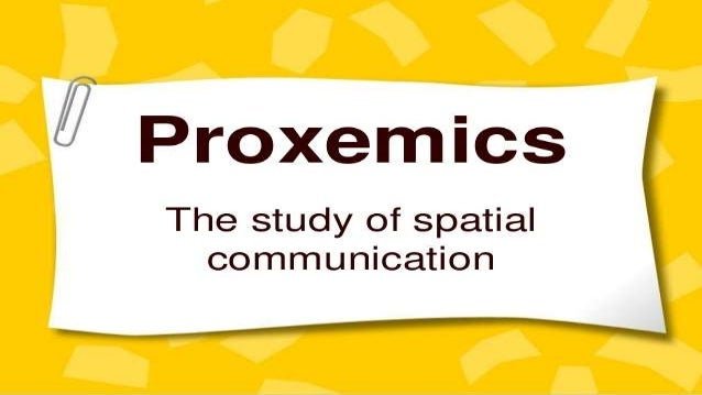 KINESICS AND PROXEMICS PDF DOWNLOAD