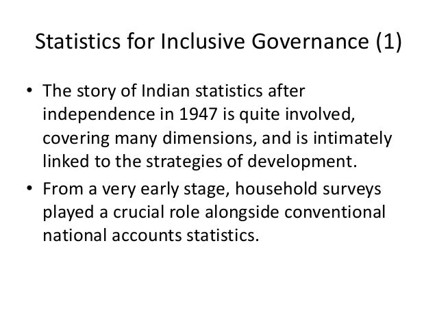 national income in india after independence National income statistics: background scholars attempting to estimate national income statistics for pre-independence india have confronted innumerable difficulties in finding reliable data whatever estimates they make, they are forced to rely on macrolevel data and/or to make numerous assumptions.