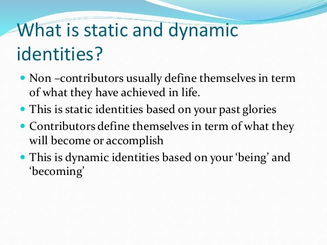 Static or dynamic checkpoint