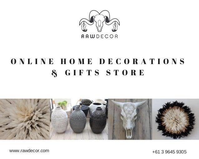 Raw Decor Online Home Decor Store In Australia
