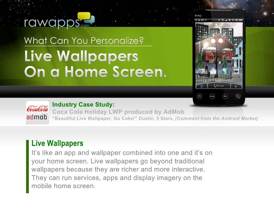 Live Wallpapers Personalization Of Android Phones Tablets For Mar
