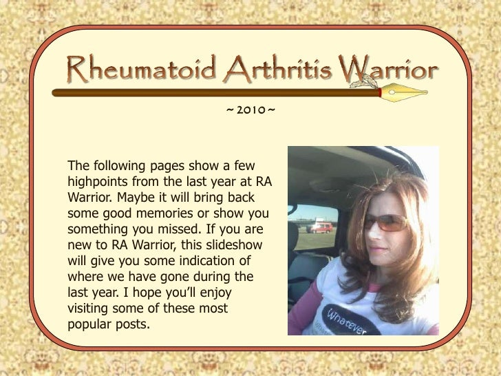 RA Warrior 2010 Year in Review