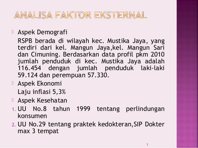 Analisa Swot Rawat Jalan Rs Permata Bekasi 2011