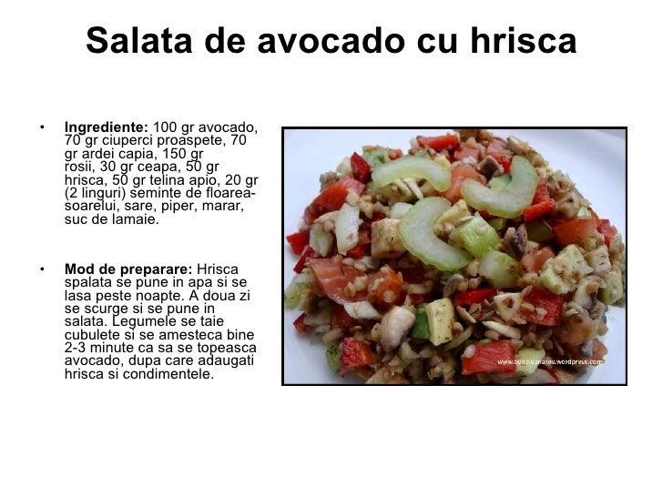 Salate naturiste de primăvară